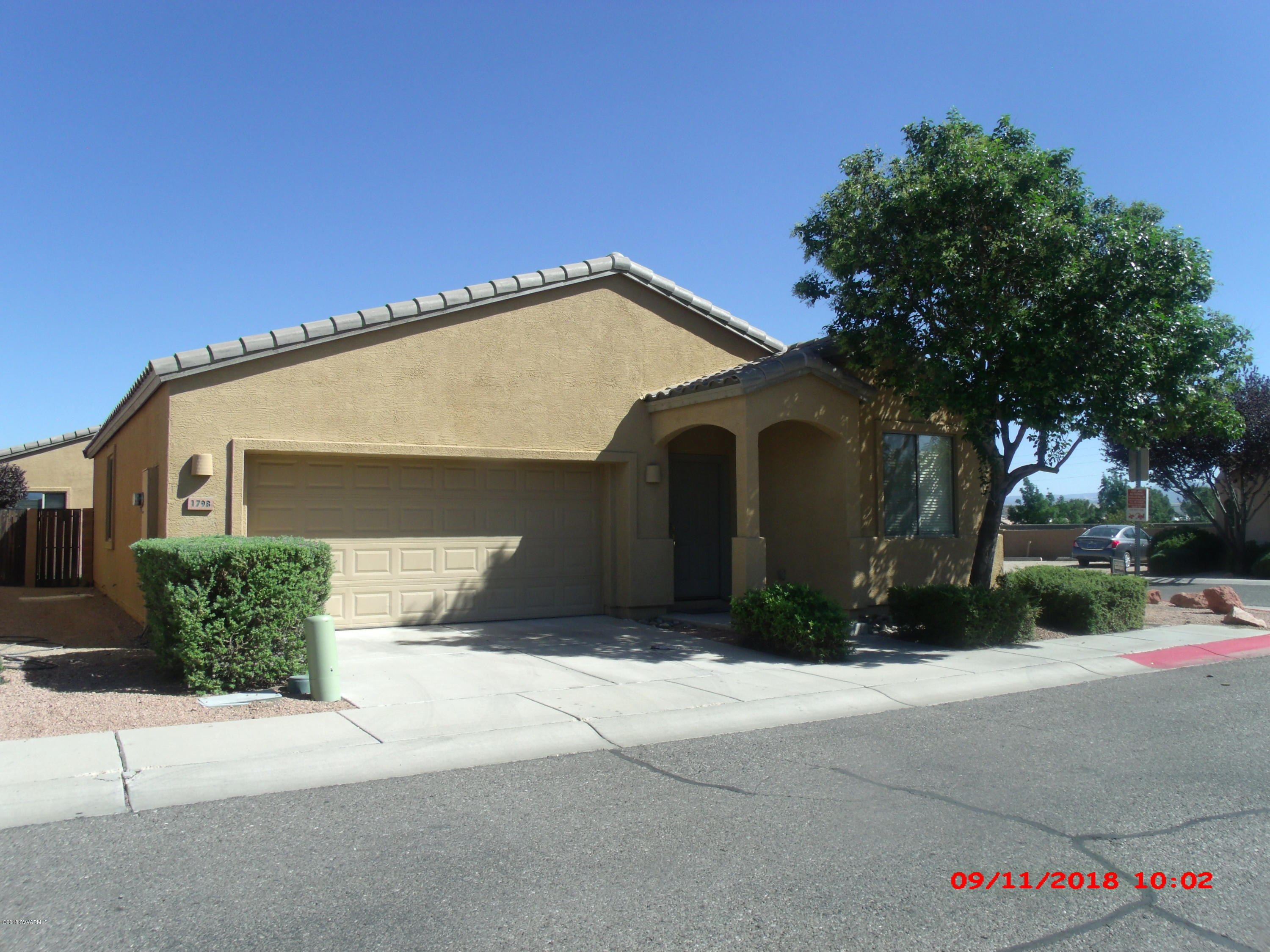 1798 Vista De Montana Cottonwood, AZ 86326