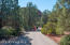 Road to Broken Arrow Trail - 5 min walk or 1 min drive