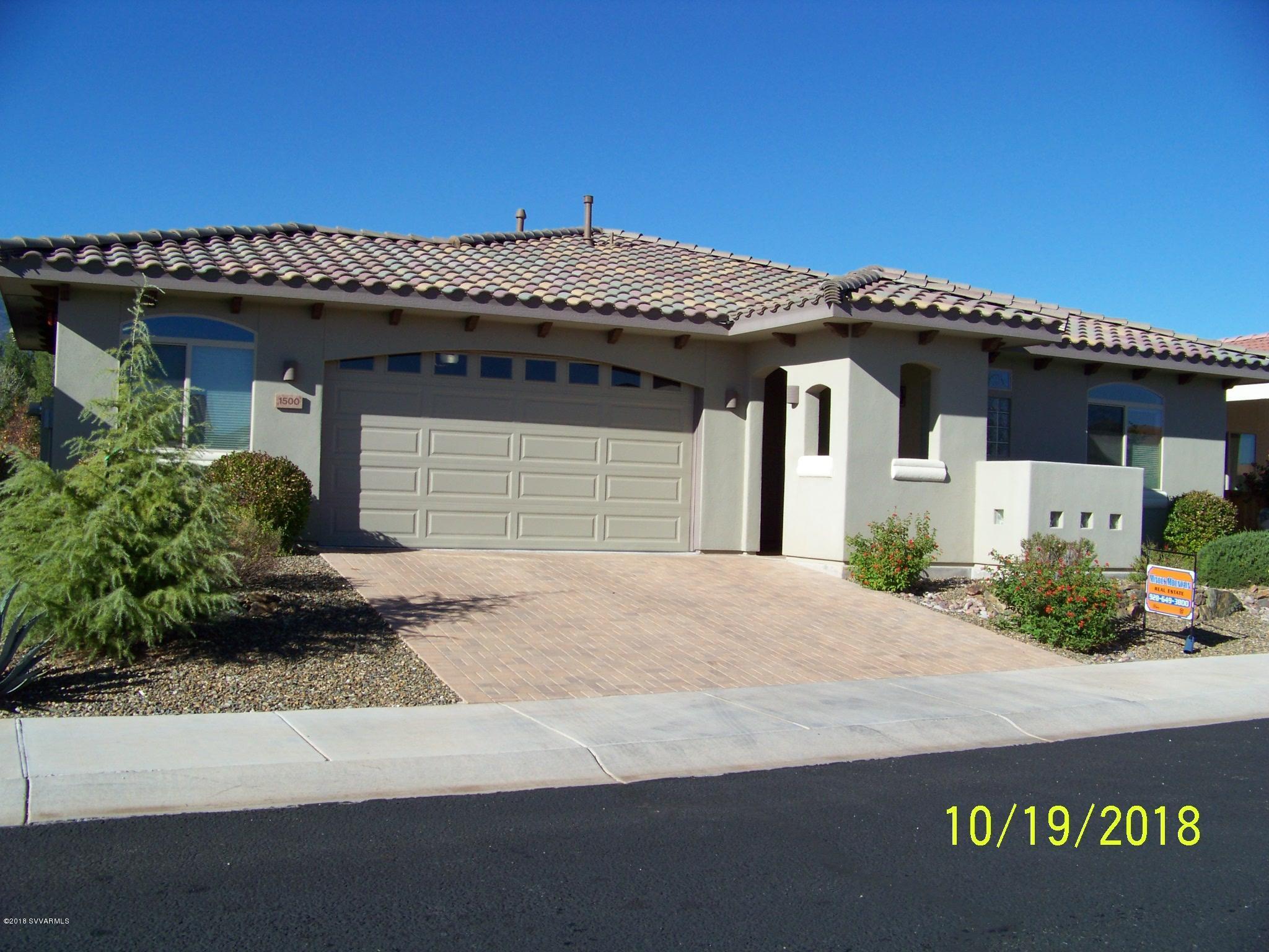 1500 Black Bear Drive Cottonwood, AZ 86326