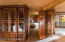 Built in by Sedona's Wood Joint company. Located at base of grand stairway.