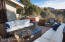Rear Courtyard w/ Firepit/Water fall and Hot tub