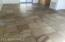Close up of the Slate tile floors