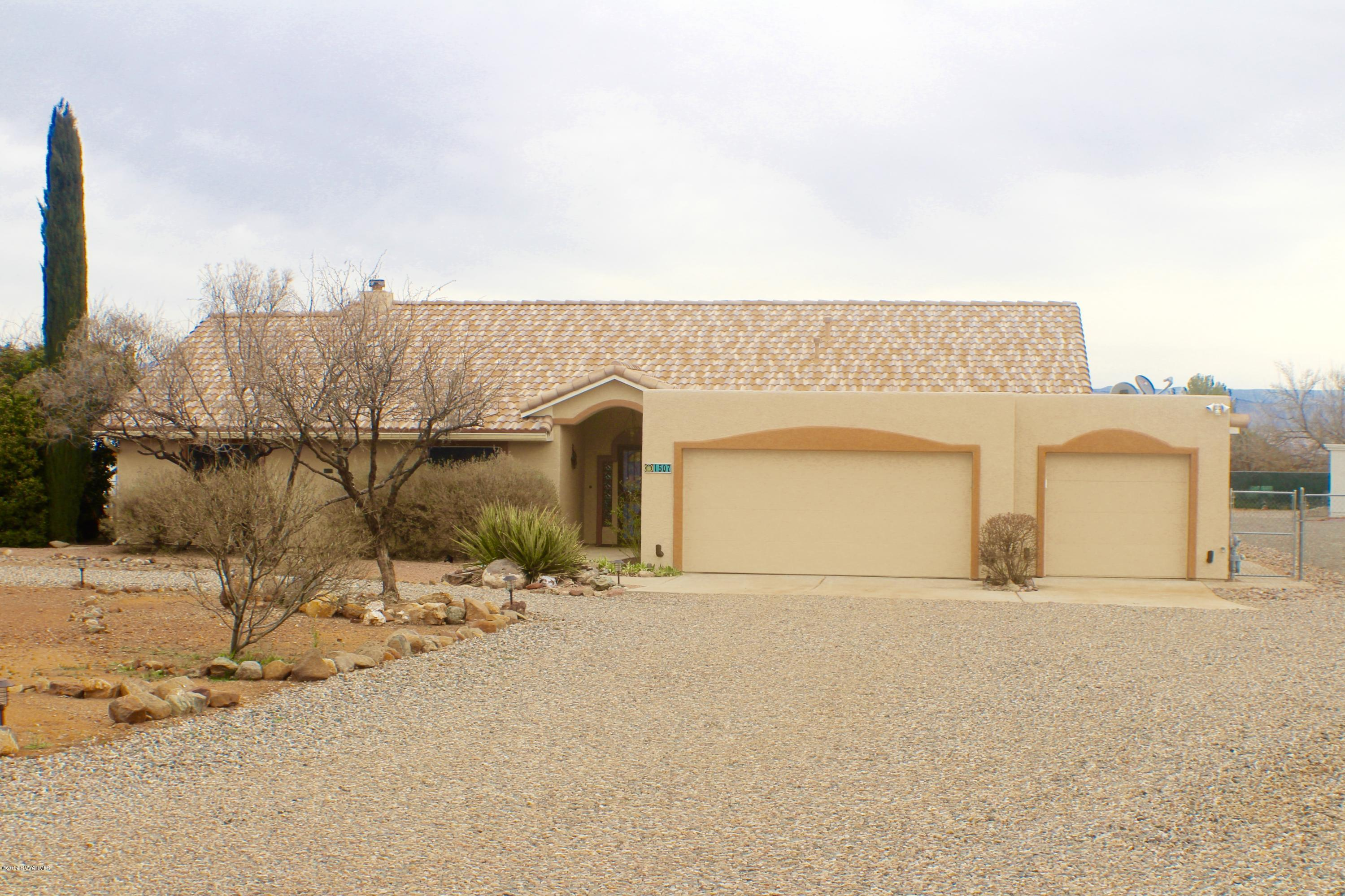 1507 S Palisade Drive Cottonwood, AZ 86326