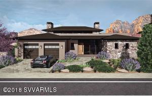 On of the last Retreat Plan 3 homes, located in the exclusive Seven Canyons gated community, this home ''to be constructed'' enjoys an elevated location with spectacular views of Long Canyon across our acclaimed Tom Weiskopf golf course. Featuring a stone and stucco exterior with luxury appointments inside, early buyer can have their choice of options selection and customization of interior finishes. Offering one-level living at the main level, this open floorplan opens to an expansive outdoor patio and full views. A stone fireplace in the living room with overhead clerestory windows gives ample natural light, interior finishes include Pella windows, Wolf appliances, Quartz countertops, tile, wood and carpeted floors, and ''The Organic Home'' elements.
