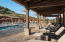Enjoy the Sedona sun from underneath our covered deck at the Club's outdoor pool