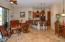 Knotty Alder Cabinets, Travertine Flooring, Granite Counters ....