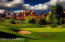 Fabulous Sedona Golf Resort Course with dramatic Cathedral and Bell Rock views.