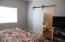 barn door in master bed room