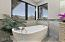Relaxing Deep Flat Bottom Bath with Tile Surround & Sunny Window Views!