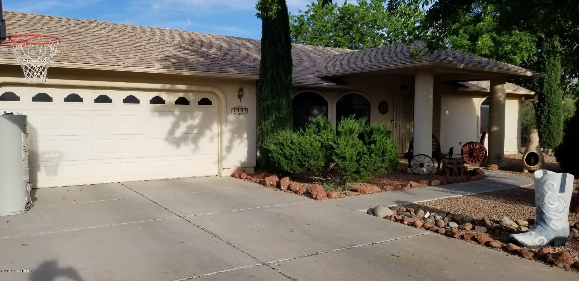 1305 S Mountain View Drive Cottonwood, AZ 86326