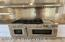 """Commercial style 6 burner dual fuel 48"""" range with griddle."""