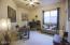 Upgraded carpeting, ceiling fan, duet window coverings.