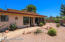 Beautifully landscaped and fenced yard. Perfect for entertaining, pets and just enjoying the beautiful Red Rock scenery. Mature pine trees and other drought tolerant plants for a low maintenance yard.