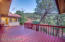 Lots of Deck Space for outdoor dining. Backs to National Forest
