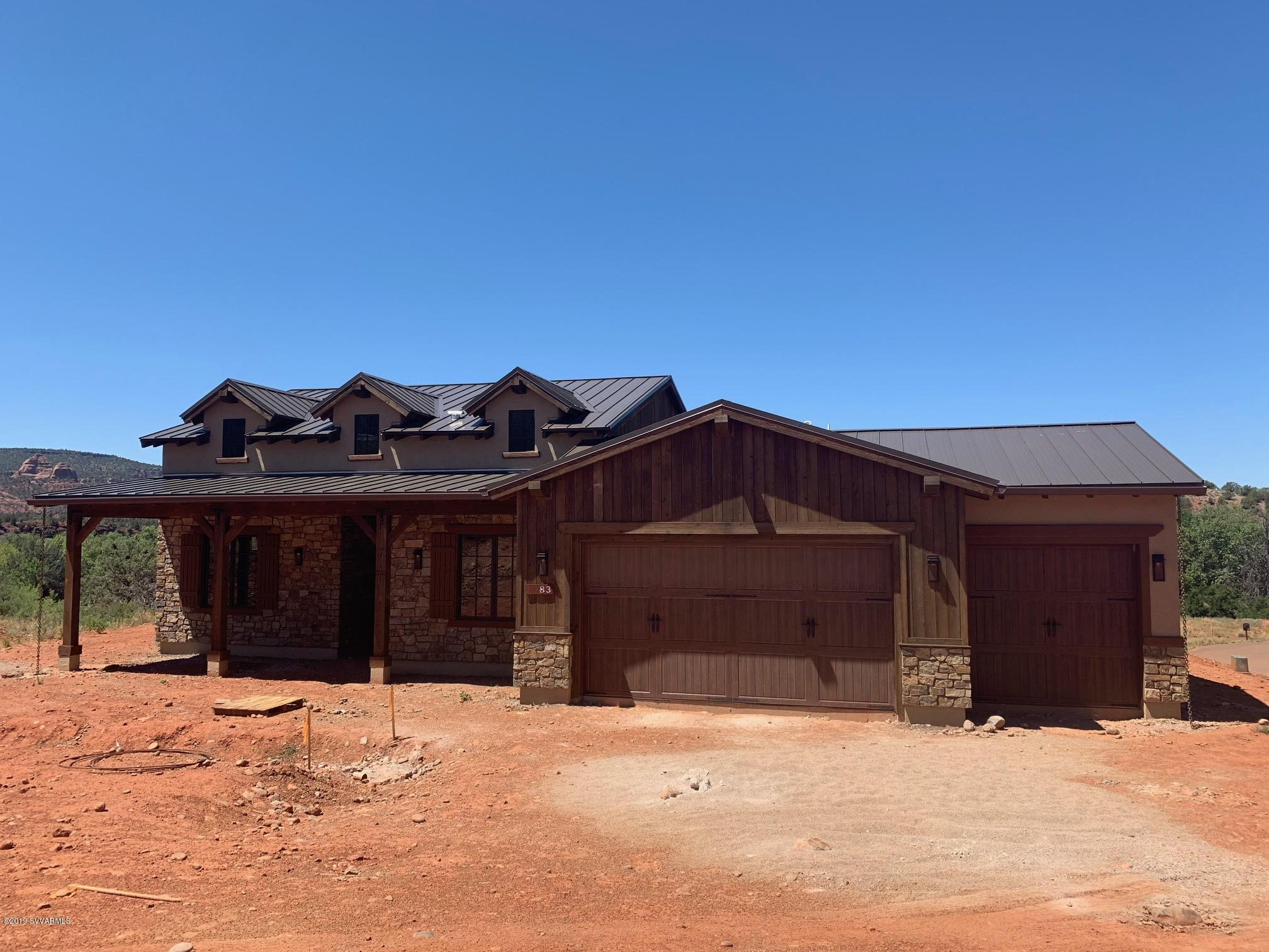25 Settler Lane UNIT Lot 45 Sedona, AZ 86351