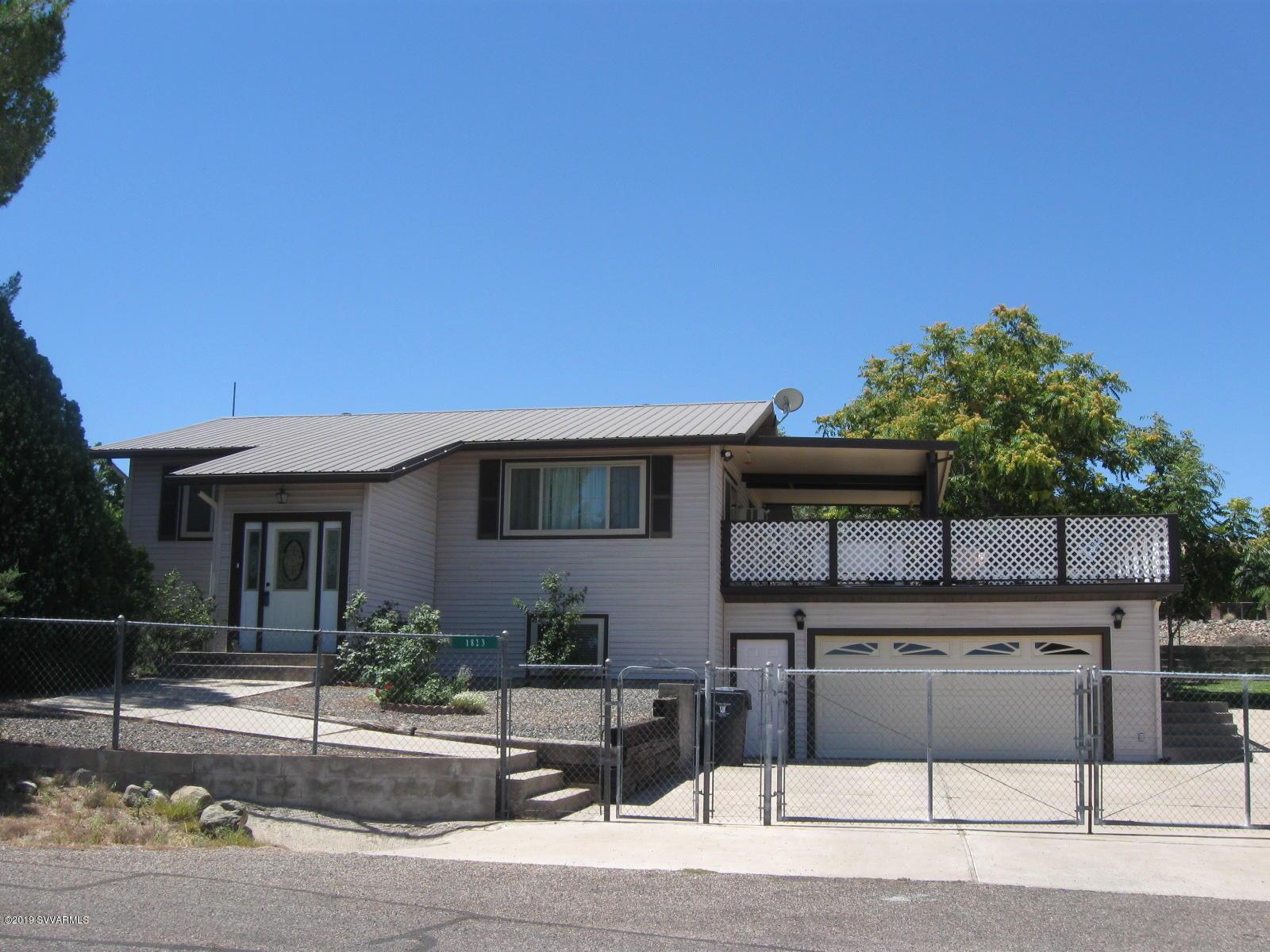 1823 S Star View Circle Cottonwood, AZ 86326