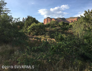 Gorgeous red rock views available from this slightly sloped lot.