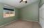 Large Master Bedroom. Horizontal blinds