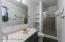 Master Bath. New toilet & flooring