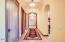 Hallway to Master Suite