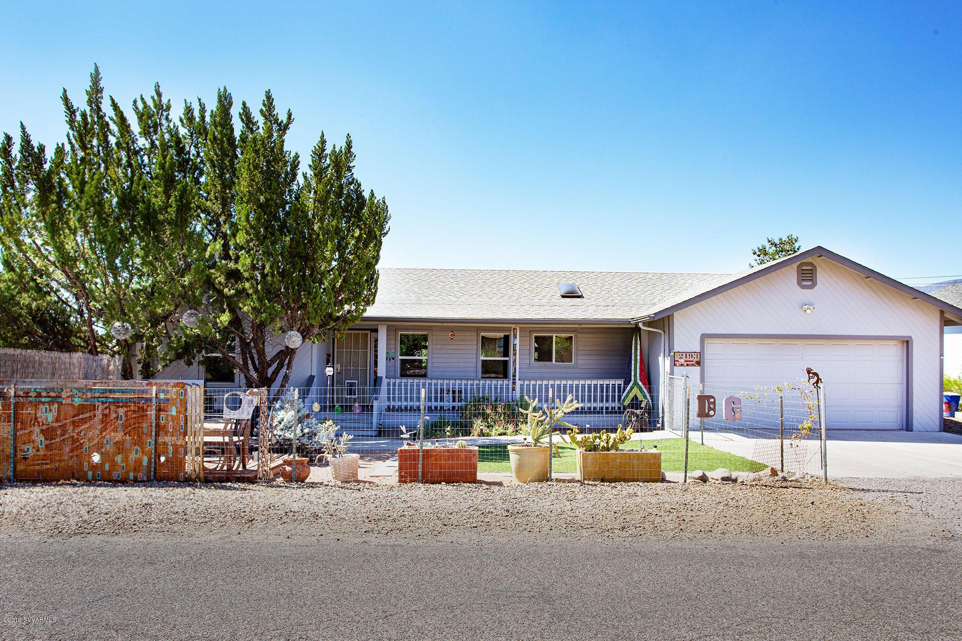 2193 S Arrowhead Lane Cottonwood, AZ 86326