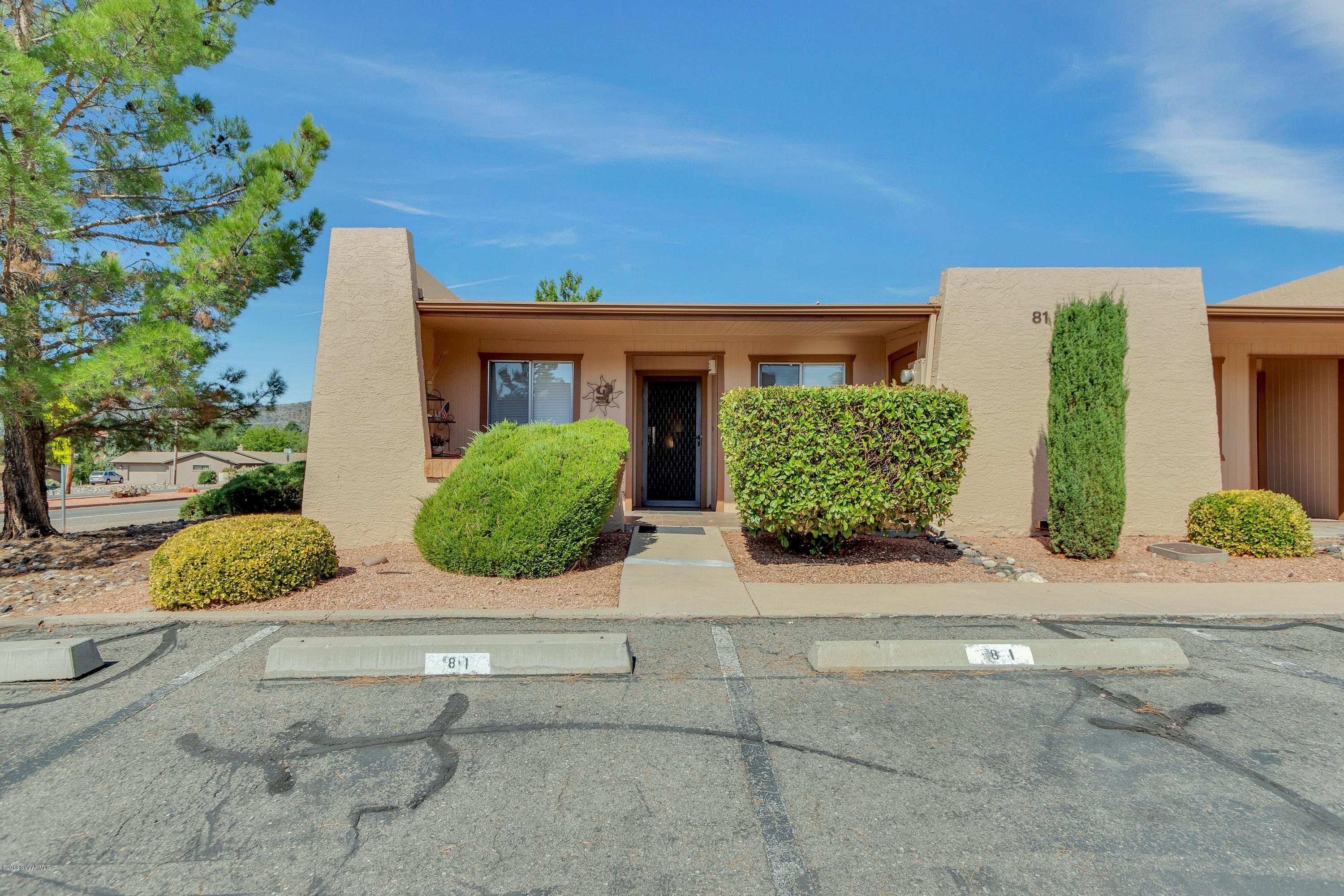 130 Castle Rock Rd UNIT 81 Sedona, AZ 86351