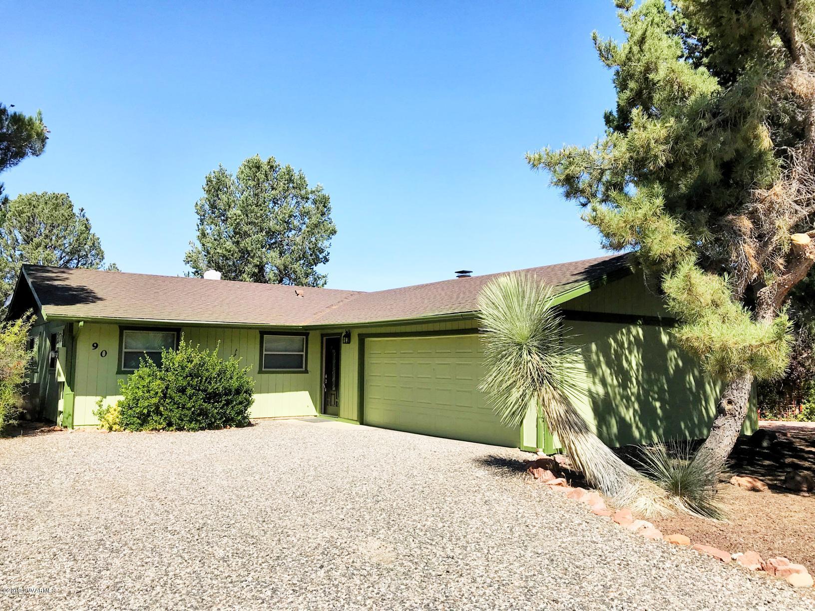 90 Palo Verde Circle Sedona, AZ 86351