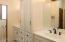 upgraded vanities in master - tons of storage