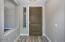 Plank Tile Foyer Entrance