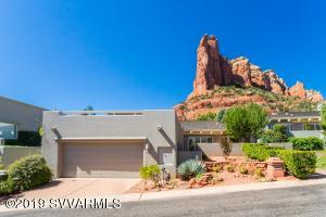 153 Shadow Mountain has Great Curb-Appeal with view of Coffee-Pot Rock directly adjacent