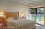 Guest Bedroom with Slider