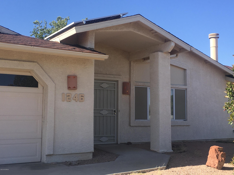 1246 S Ocotillo Drive Cottonwood, AZ 86326