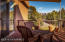 Accessed from the living room and third bedroom this large deck has accent lighting and exquisite views of Mogollon Rim