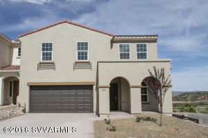 PRACTICALLY NEW, PREVIOUS MODEL HOME! Private corner lot, w some of the most Incredible Red Rock Views in the entire Verde Valley!!! BARELY LIVED IN, this 5 bedroom, 3.5 bath has room for everyone & at 2,316 sq ft, this home is seriously Huge! Separate Family and Living Room, Upstairs and Downstairs Master Suites (with walk-in shower downstairs), plus a Loft! It's full of lovely upgrades like Maple cabinets, Quartz kitchen counter-tops, Acrylic wood plank tile and Stainless appliances. Built like a fortress, on a reinforced post-tension slab with 2x6 framing. It is Energy Star rated and inspected too, with standard features like vinyl windows, fire sprinklers, extra insulation and fresh-air intake systems. Hastle free, as HOA takes care of exterior maintenance. GREAT VIEWS & GREAT VALUE