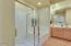 Main level master bedroom bath