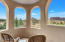 Master bedroom on 2nd floor covered patio with VIEWS !