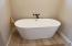 Style of free-standing tub to be included