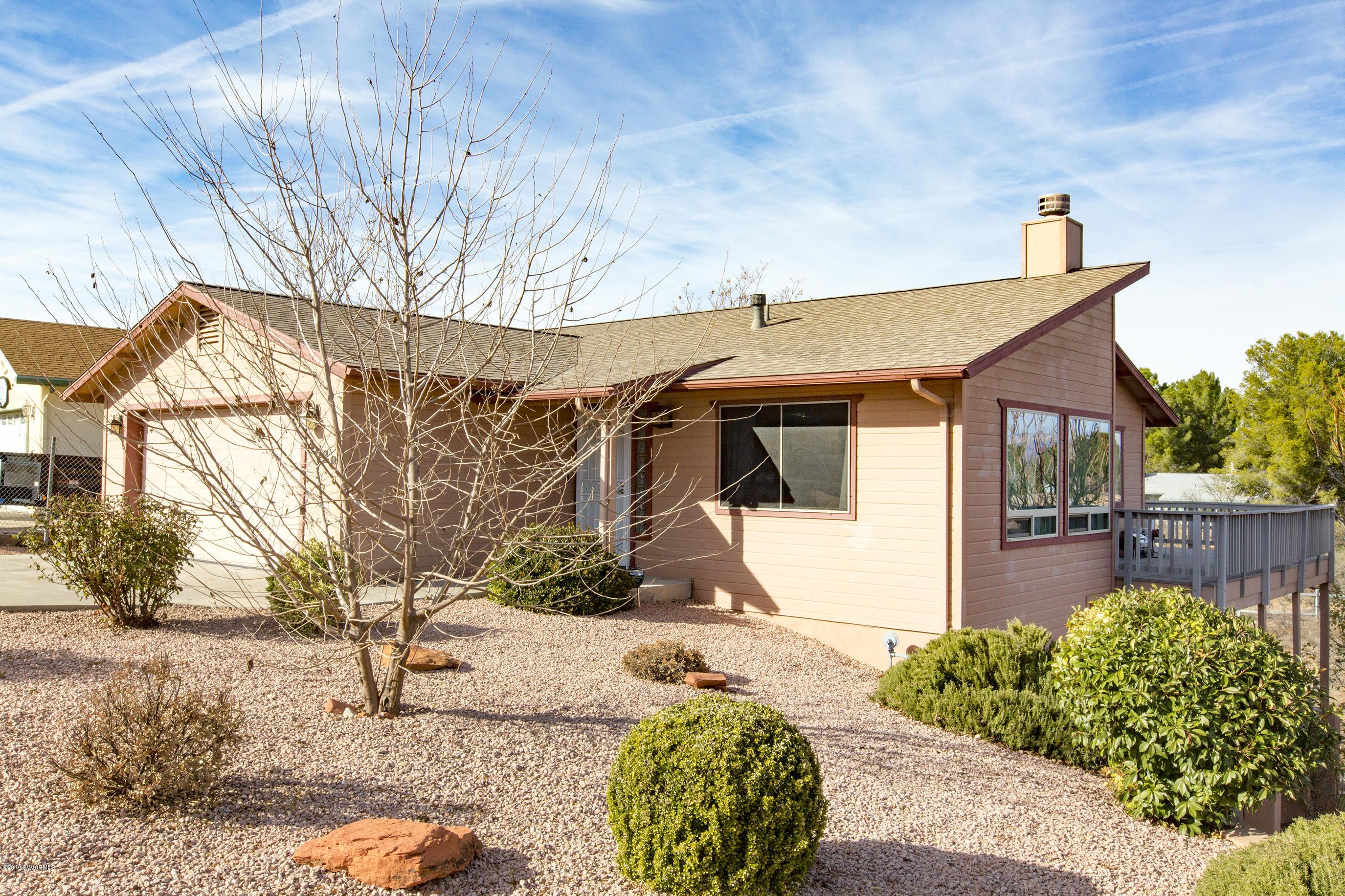 4628 E Butte Drive Cottonwood, AZ 86326