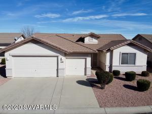 Come check out this one owner Mesquite model. Well cared for, roomy floor plan with three car garage. Granite kitchen counter tops. Storage galore in the laundry room and garage. Backs too common area with walking trail. Top notch clubhouse with exercise equipment and pool. Note: 3rd bedroom was built as a den and has no closet.