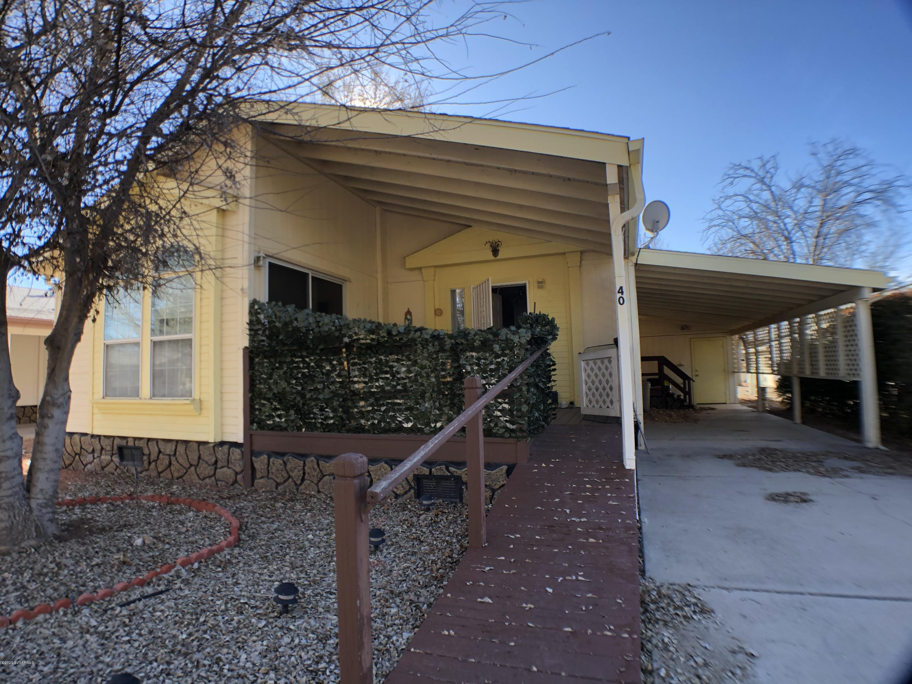 1487 W #40 Horseshoe Bend Drive Camp Verde, AZ 86322