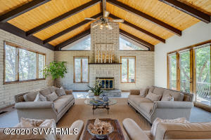 Virtual Staging of Living Room