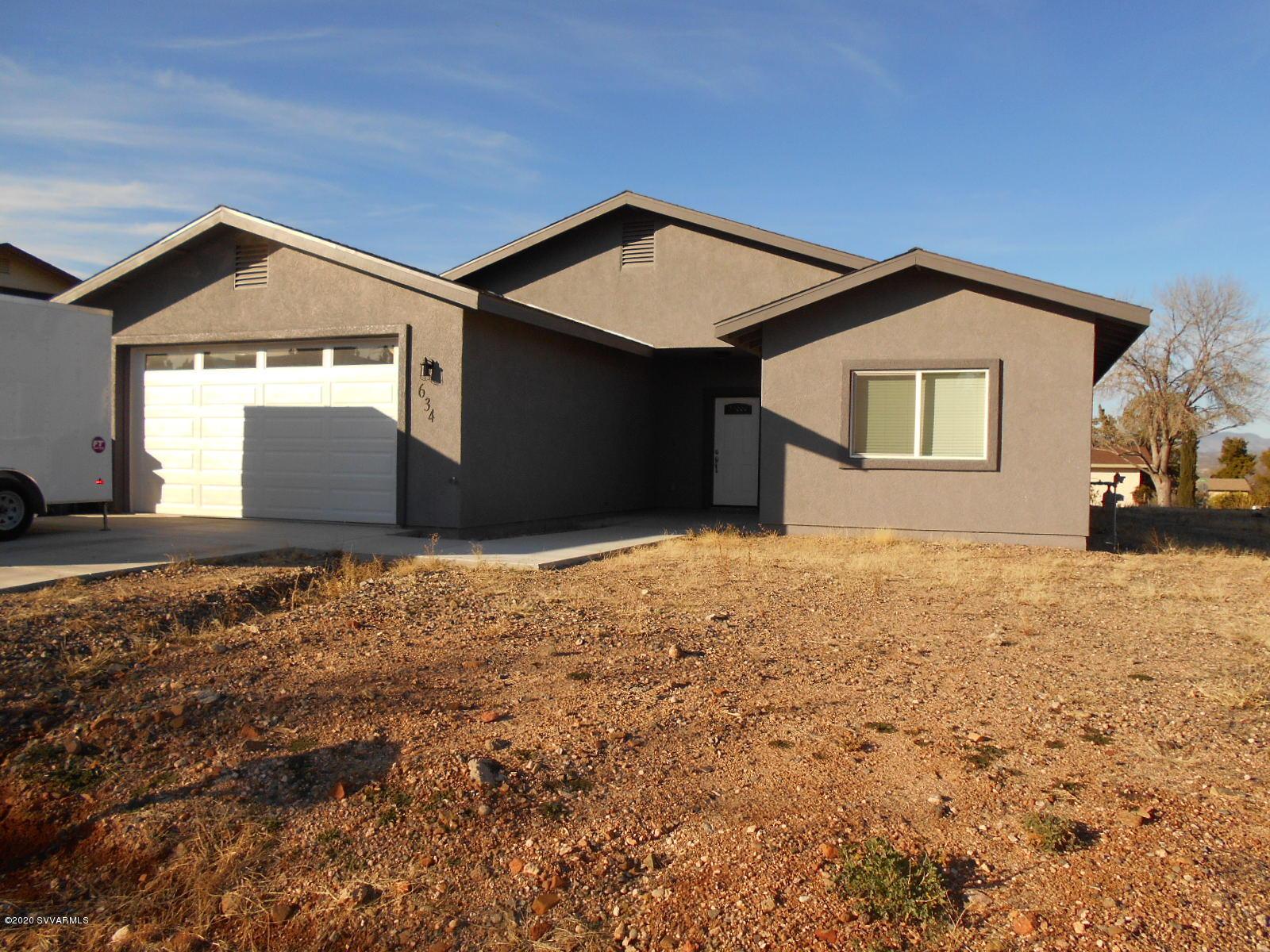 634 E Desert Jewel Drive Cottonwood, AZ 86326