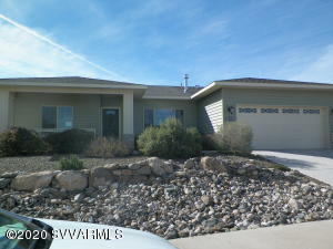 Want great mountain views! This is a top quality C&B Custom Home (6 time National award winning company!) Come see this Custom home with insulated stem wall and insulation under slab for even temperature in floors year around. Home is Energy Star Green Certified. This home has crazy low electric bills and indoor Air Plus for your comfort and good health! Home currently leased as office/show place. Located in Beautiful Crossroads at Mingus Custom home subdivision with magestic views of the mountains , 2 parks, a family park with basket ball, pickle ball, basket ball,& horse shoe range ET.the 2nd park is to be a meditation park, also enjoy the wonderful hiking trail! The sunrise and sunsets here are amazing! Come see this great neighborhood close to shopping,medical & local ammenities