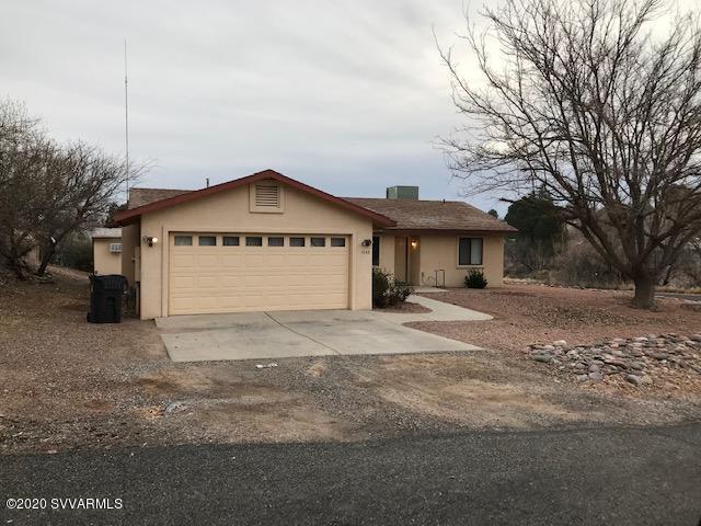 1253 S Wild Burro Drive Cottonwood, AZ 86326
