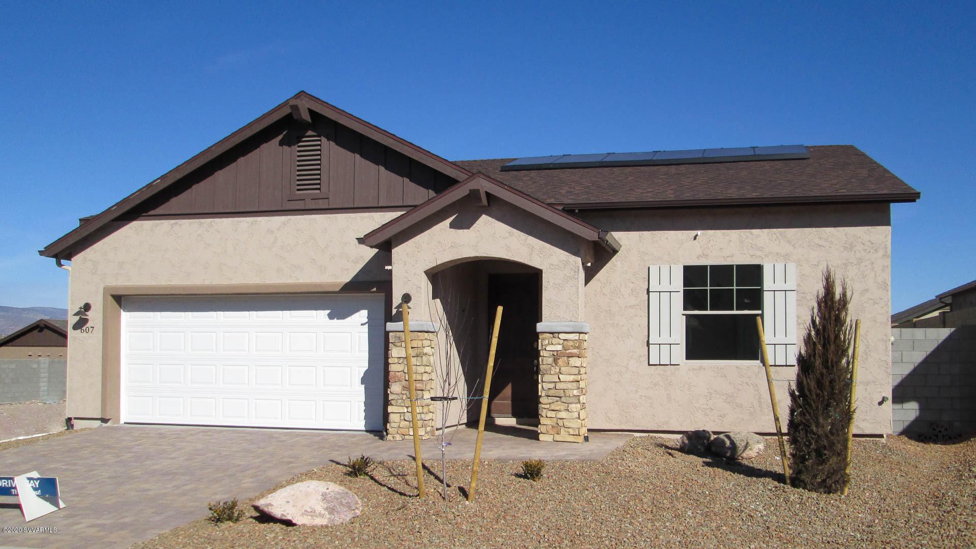607 Tapco Lane Clarkdale, AZ 86324