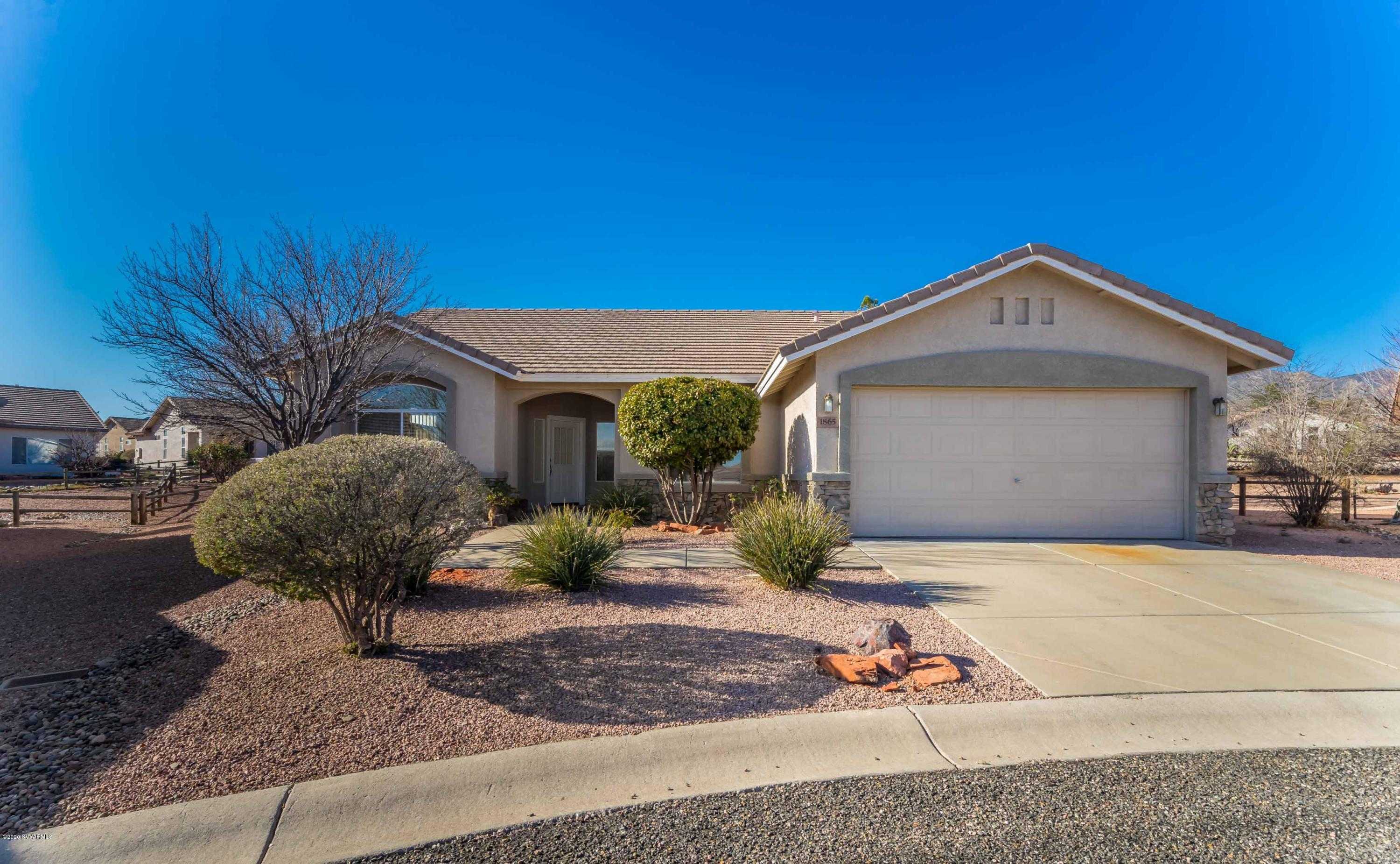 1865 W Dart Circle Cottonwood, AZ 86326