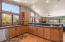 Kitchen provides an abundance of cabinets and counter top space!
