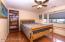 Large Bedroom 2 with beautiful flooring & window seat, pleated shades & big closet.....