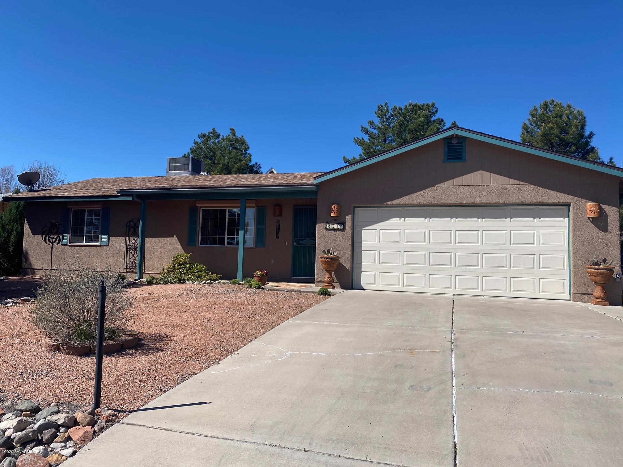 2512 S Rio Verde Drive Cottonwood, AZ 86326