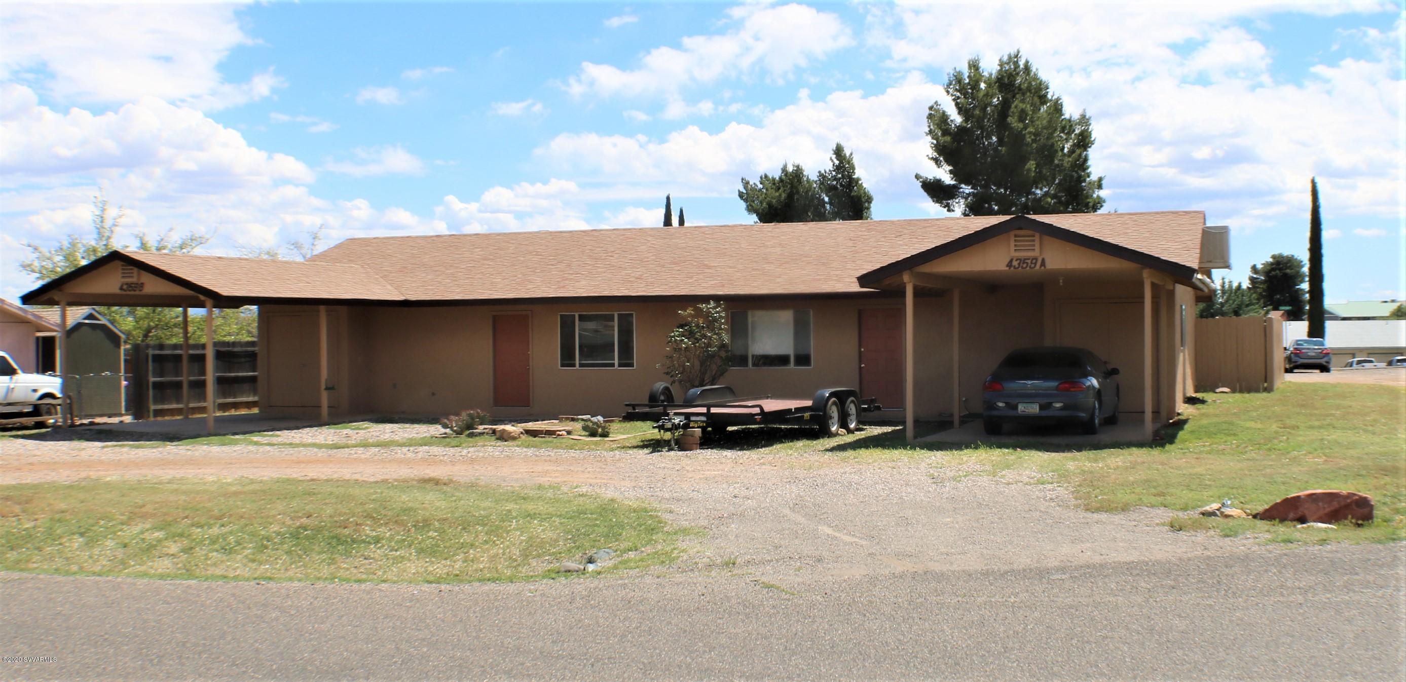 4359 Butte Drive Cottonwood, AZ 86326